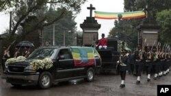 Похоронный кортеж. Аддис-Абеба. 2 сентября 2012 г.