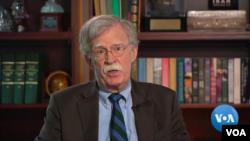 Trong một cuộc phỏng vấn với VOA, cựu cố vấn an ninh quốc gia John Bolton khẳng định sự quan tâm của Tổng thống Donald Trump đối với Ukraine chỉ vì mục đích chính trị trong nước chứ không phải vì vấn đề tham nhũng.