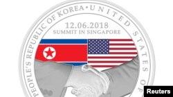 Kỷ niệm chương thượng đỉnh Trump - Kim của Singapore.
