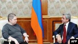 Կայացել է Հայաստանի նախագահի հանդիպումը ԱՄՆ-ի արտգործնախարարի օգնականի հետ