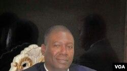 Jean Wilio P. Chrispin, konseye politik Prezidan Jovenel Moise. (Foto: Mirlande Beauzil)