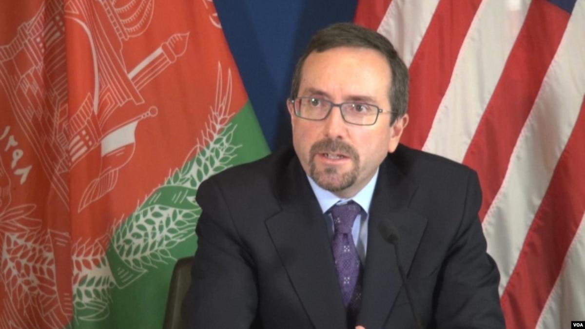 سفیر امریکا: صلاحیت والی بلخ مسالمتآمیز منتقل شود