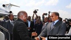 Rais Kabila apokelewa na rais Kikwete Dar es Salaam