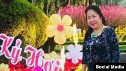 Bà Phạm Thị Qúy. Photo Facebook Quy Pham