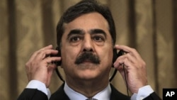 Frayin Ministan Pakistan Yusuf Reza Gilani