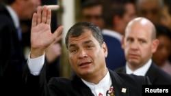 El presidente de Ecuador, Rafael Correa, anunció la reunión del bloque suramericano.