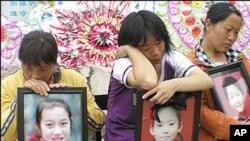 四川汶川大地震中死難學生照片