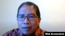 Hariyanta Soetarto dari KBRI Hanoi, Vietnam. (Foto: screenshot)