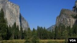 Parka Niştîmanî ya Yosemite (Wêne: Ahmed Barzanî)