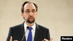 자이드 라아드 알 후세인 유엔 인권최고대표.