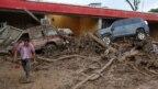Trận lũ lụt và lở đất ở thị trấn Mocoa, Colombia, ngày 2/4/2017.