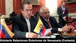 La delegación de cancilleres escuchará a la oposición venezolana.