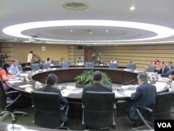 台湾中央选举委员会举办禁止公开展示五星旗公投辩论