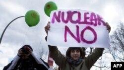 Антиядерные протесты в Германии