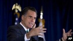 Ứng cử viên Tổng Thống của Đảng Cộng Hòa Mitt Romney
