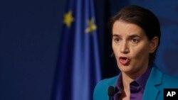 ARHIVA - Premijerka Srbije Ana Brnabić