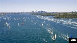 Avustralya'da Hobart Yelken Yarışını Wild Oats XI Kazandı
