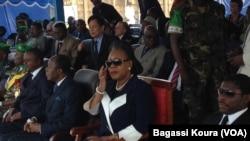 Hommage rendu aux troupes africaines par la Présidente de la Transition centrafricaine Catherine Samba-Panza