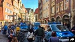 德国明斯特市7号发生汽车撞人事件