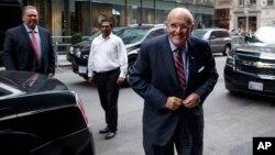 Rıza Sarraf'ın avukatlığını üstlenen New York eski Belediye Başkanı Rudy Guiliani aynı zamanda Başkan Donald Trump'a çok yakın bir isim