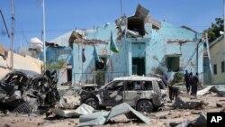 عکسی از محل انفجار روز سه شنبه ۳۰ خرداد