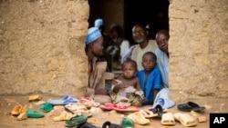 Tư liệu - Người tị nạn trong một trại tị nạn ở miền bắc Cameroon