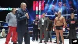 俄羅斯總理普京11月20日祝賀俄國選手獲勝