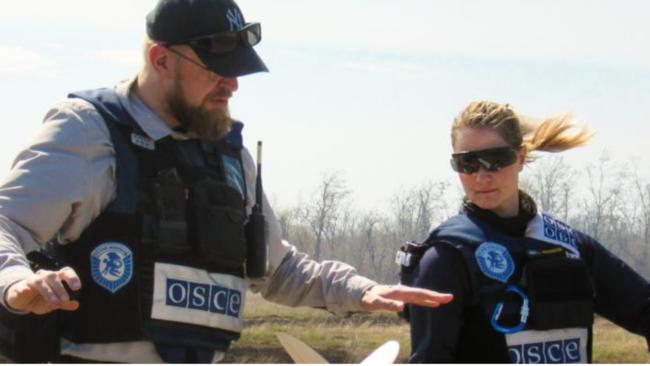 ОБСЕ на границе с Украиной