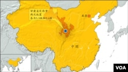 甘肃省定西市 两次地震 各为5.9级和5.6级