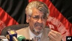 Afghan Defense Ministry spokesman Zahir Azimi (file photo)