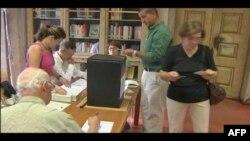 Cử tri Bồ Ðào Nha đi bỏ phiếu