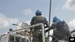 Soldados senegaleses da ONU na Costa do Marfim