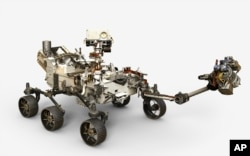 ناسا کی جدید ترین روبوٹک گاڑی جسے 2020 میں مریخ کی سطح پر اتارا جائے گا۔
