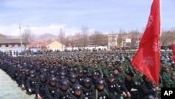 中國加強西藏警力