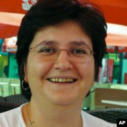 Alma Masic, a former aid worker during Bosnia's war, is now director of the Sarajevo Youth Initiative for Human Rights