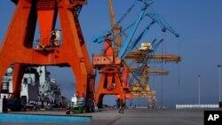 Pelabuhan Gwadar di Pakistan yang dibangun dengan kerjasama Pakistan-China dan menelan biaya $248 juta (foto: ilustrasi).
