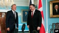 پیش از این وزرای خارجه آمریکا و دانمارک در واشنگتن دیدار کرده بودند.