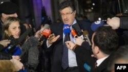 سالم مسلط سخنگوی کمیته ای متشکل از نمایندگان اپوزیسیون سوریه - عکس رویترز