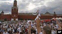 Митинг оппозиции в Москве 27 мая 2012 года
