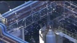 2014-01-09 美國之音視頻新聞: 日本一化工廠發生爆炸 五人死亡