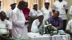 Jammeh reconnaît sa défaite en Gambie (vidéo)