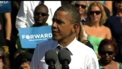 2012-10-24 美國之音視頻新聞: 奧巴馬羅姆尼盡力爭取未作決定選民