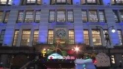 Новые витрины магазина Macy's – начало праздничного сезона в Нью-Йорке