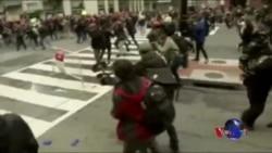 華盛頓發生反川普抗議 數十人被捕