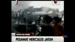 2015-06-30 美國之音視頻新聞: 印尼軍機墜毀導致大量傷亡