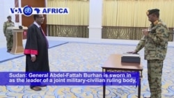 VOA60 Africa - New 'Sovereign Council' Sworn in to Lead Sudan