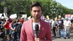 Вашингтон приєднався до всесвітнього протесту молоді проти кліматичних змін. Відео