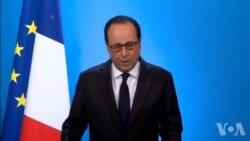 François Hollande annonce qu'il ne briguera pas de nouveau mandat en 2017 (vidéo)