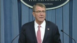 US Secretary of Defense Ash Carter on Libya Airstrikes