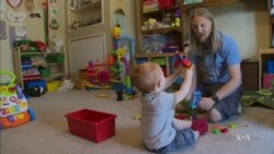 For More Dads, Home Is Where Their Work Is